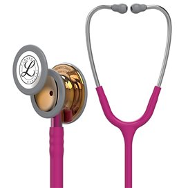 Littmann Classic III Stethoscope 5647 Chocolate Raspberry - Pink Stem