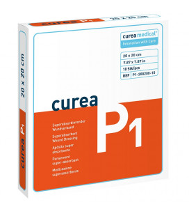 Curea P1 SuperCore wondverband 20 x 20 cm steriel 10St.