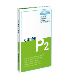 Curea P2 SuperCore wondverband 10 x 20 cm steriel 10St.