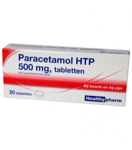 Paracetamol 500mg 20 tabletten
